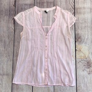 Pink H&M top